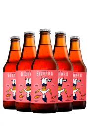 Pack Birra Bizarra Amber Ale x 12 + Copa Spiegelau de Regalo