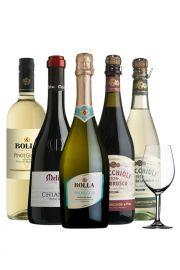 Pack Viejo Mundo - 5 Vinos Italianos + Copa