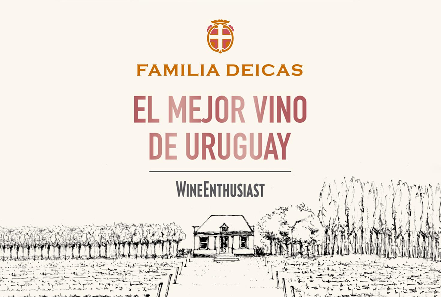 El mejor vino uruguayo - Wine Enthusiast
