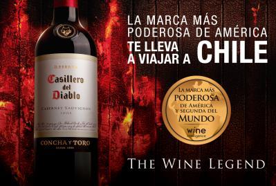 La marca más poderosa de América te lleva a Chile